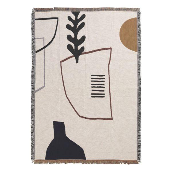 Couverture en coton, Mirage - Ferm Living