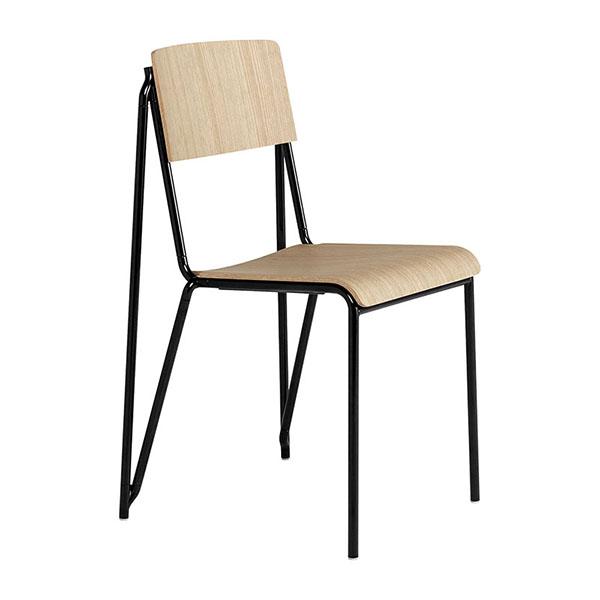 Chaise empilable, Petit standard, design : Daniel Rybakken - Hay