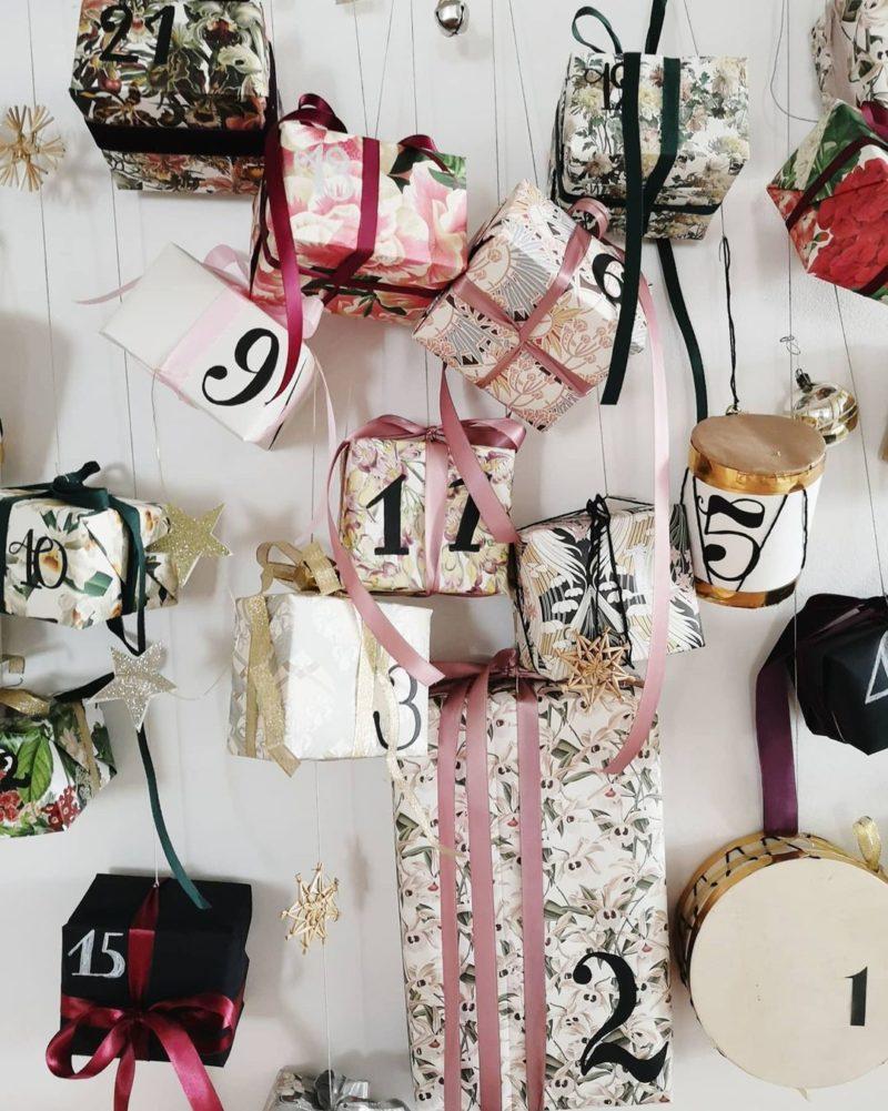 """calendrier de l'avent """"Petits cadeaux"""" improvisée par @levelorose"""