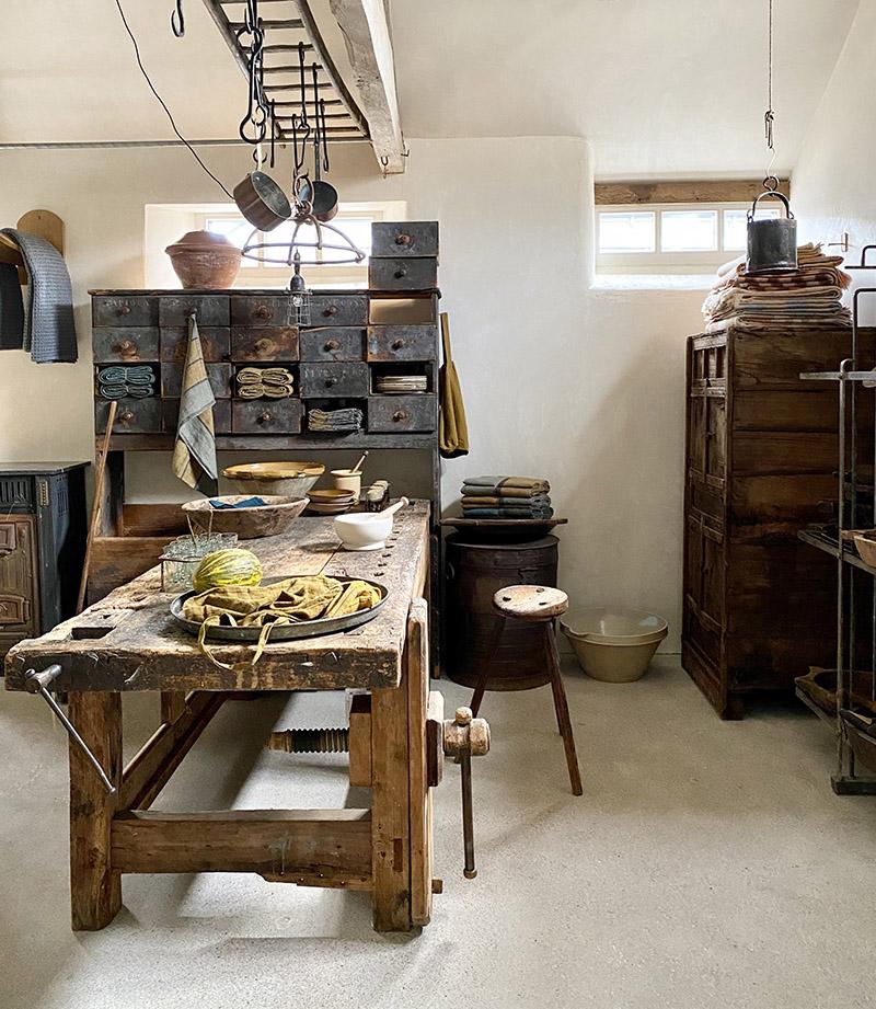 Le concept store Bailey's home dans le Herefordshire, l'amour de la récup' et des vieux objets