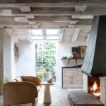 Une maison au style rustique, stylée par Leanne Ford