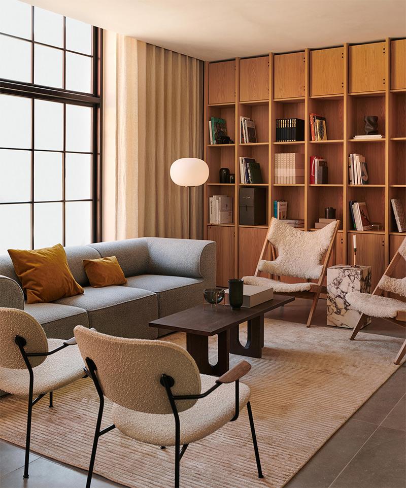 Androgyne Lounge Table, design : Danielle Siggerud et Androgyne Lounge Table : Danielle Siggerud