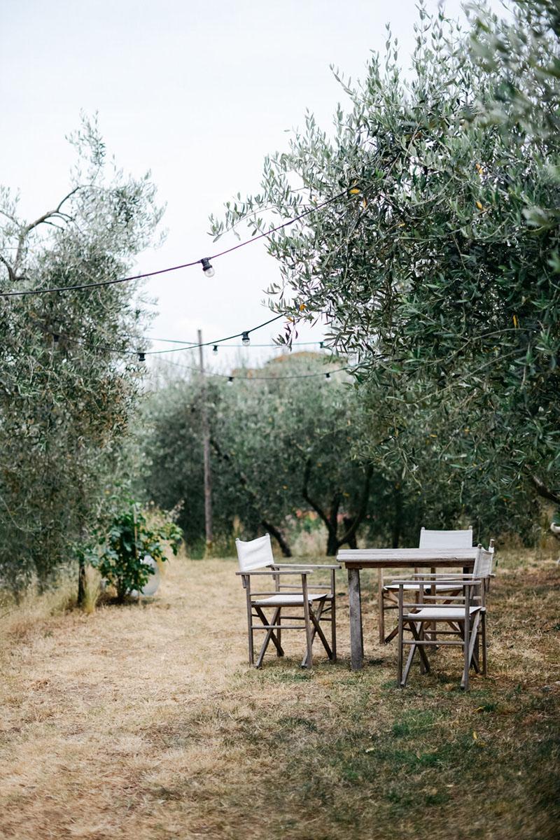 Valdirose en Toscane, une chambre d'hôtes slow // Un jardin merveilleux d'olivier et d'herbes folles