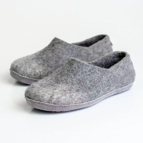 Pantoufles en laine bouillie - Boutique Etsy Bure Bure slippers