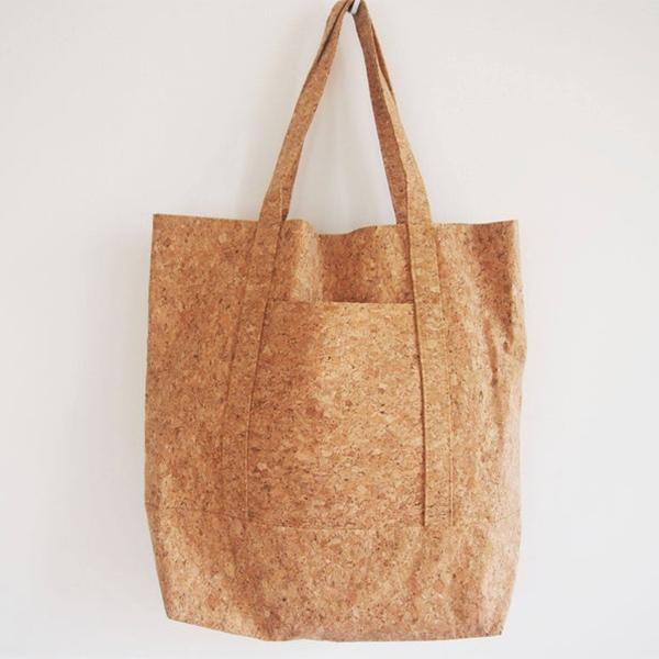 Tote bag en liège - Boutique Etsy Cork Idea