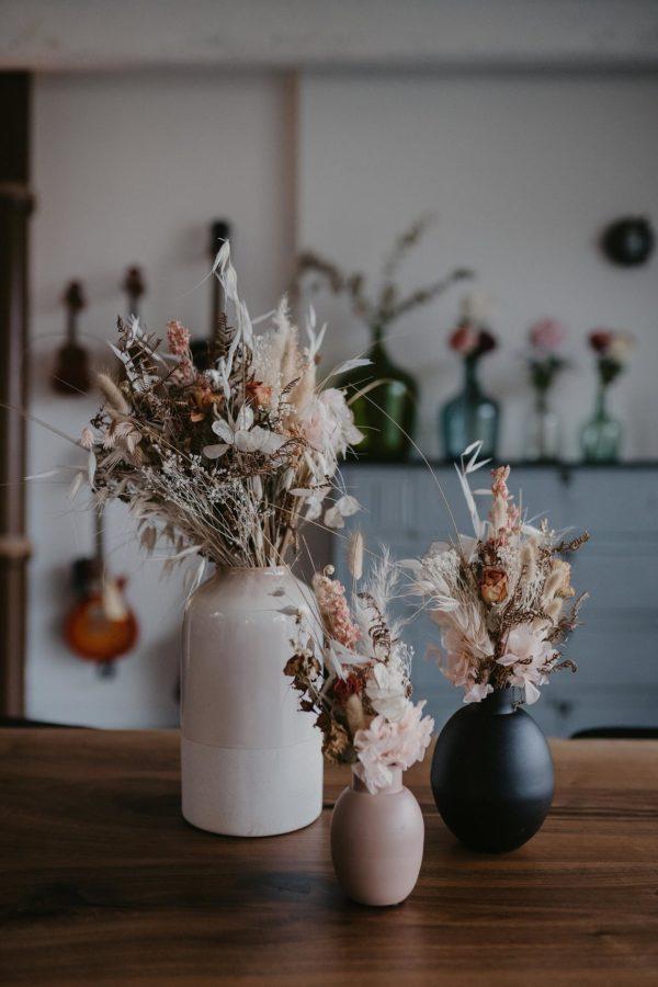 Bouquet de fleurs et graminées séchées - Boutique Etsy Folie douce Flower