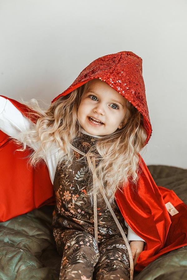 Magic Cape « Red Riding Hood » - Boutique Etsy Moi Mili