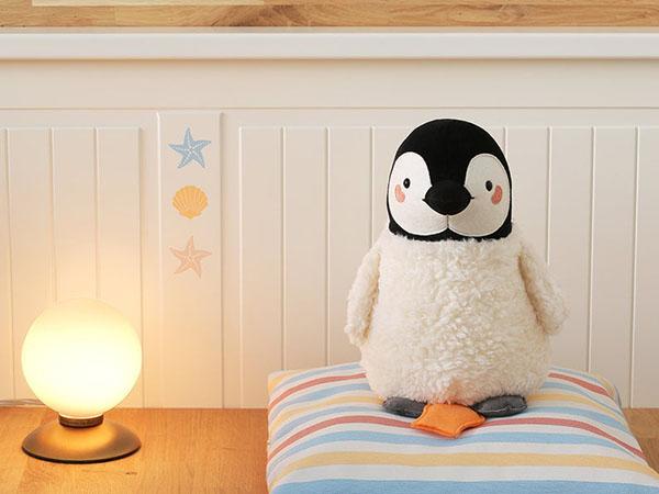Peluche boite à musique, Pingouin - Boutique Etsy Petit Panda