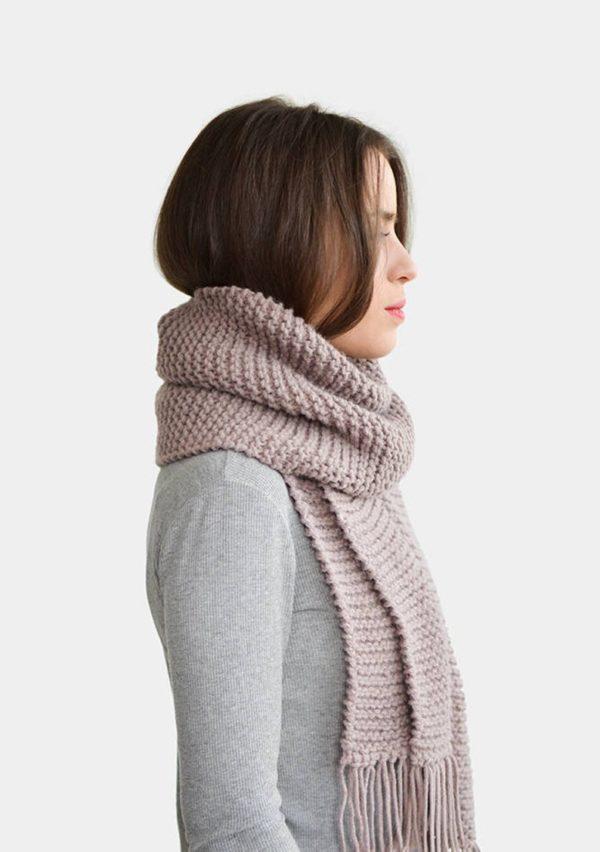 Echarpe en tricot - Boutique Etsy Plexida