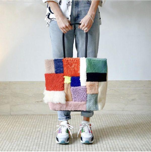 Sac en chute de peau de mouton - Boutique Etsy Primecute Bags