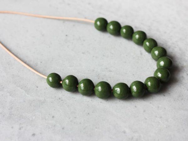 Collier en perle - Boutique Etsy Skelini