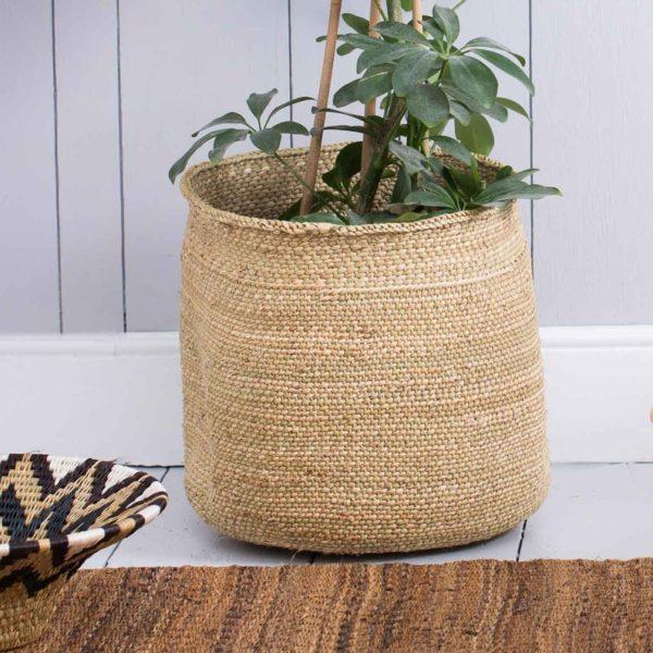 Paniers Iringa en herbe Milulu - Boutique Etsy The Basket Room
