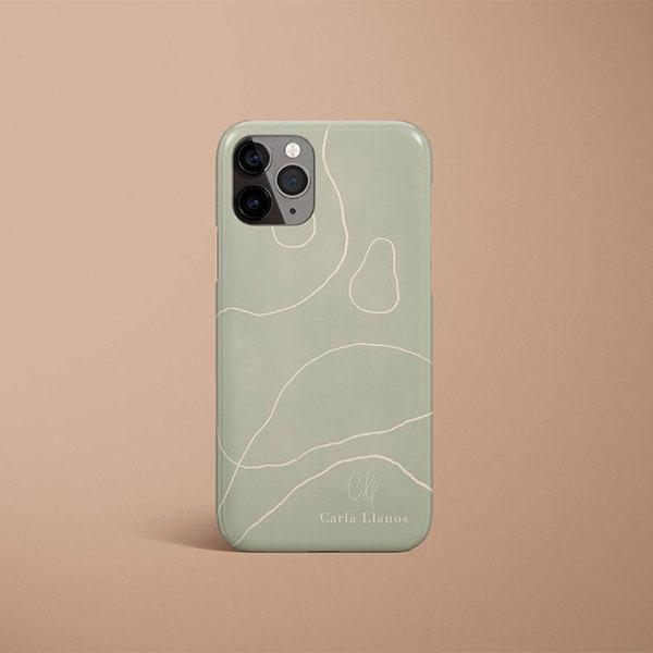 Etui pour téléphone - Boutique Etsy Carla Llanos prints