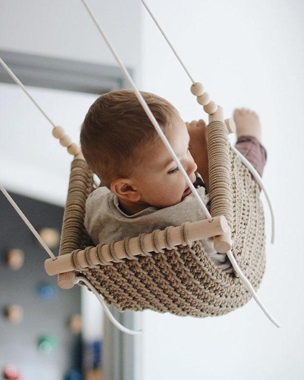 Balançoire de bébé - Boutique Etsy Malaigra