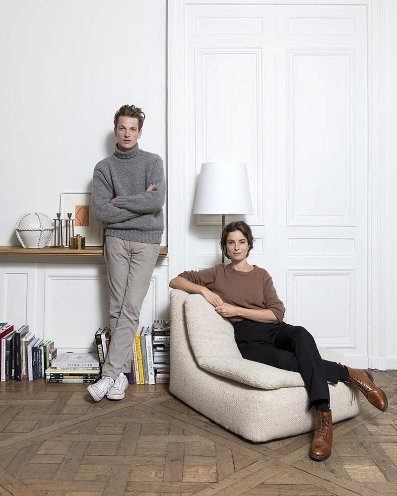 Charlotte de Tonnac et Hugo Sauzay, fondateurs de Festen architecture