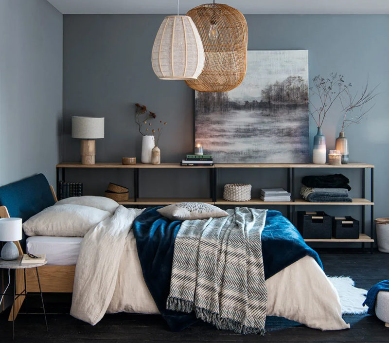 Réchauffer son intérieur avec de la déco // Harmonie des couleurs, matières naturelles et beaucoup de textiles