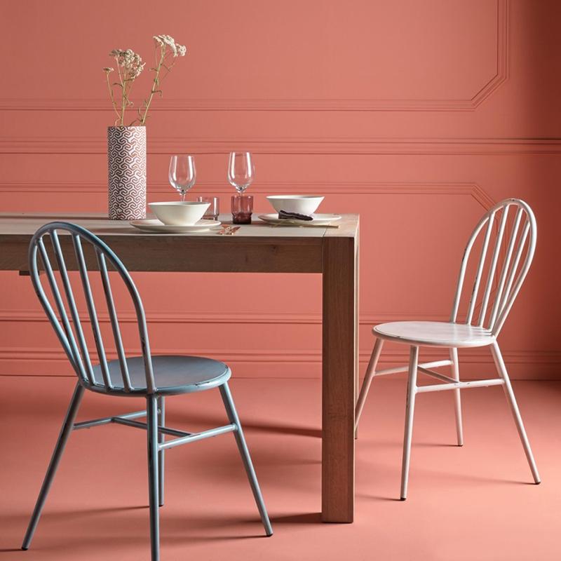 Chaise en aluminium, légère, Juliette, par la marque française Signature sur MBS Design, nouveau concept-store en ligne