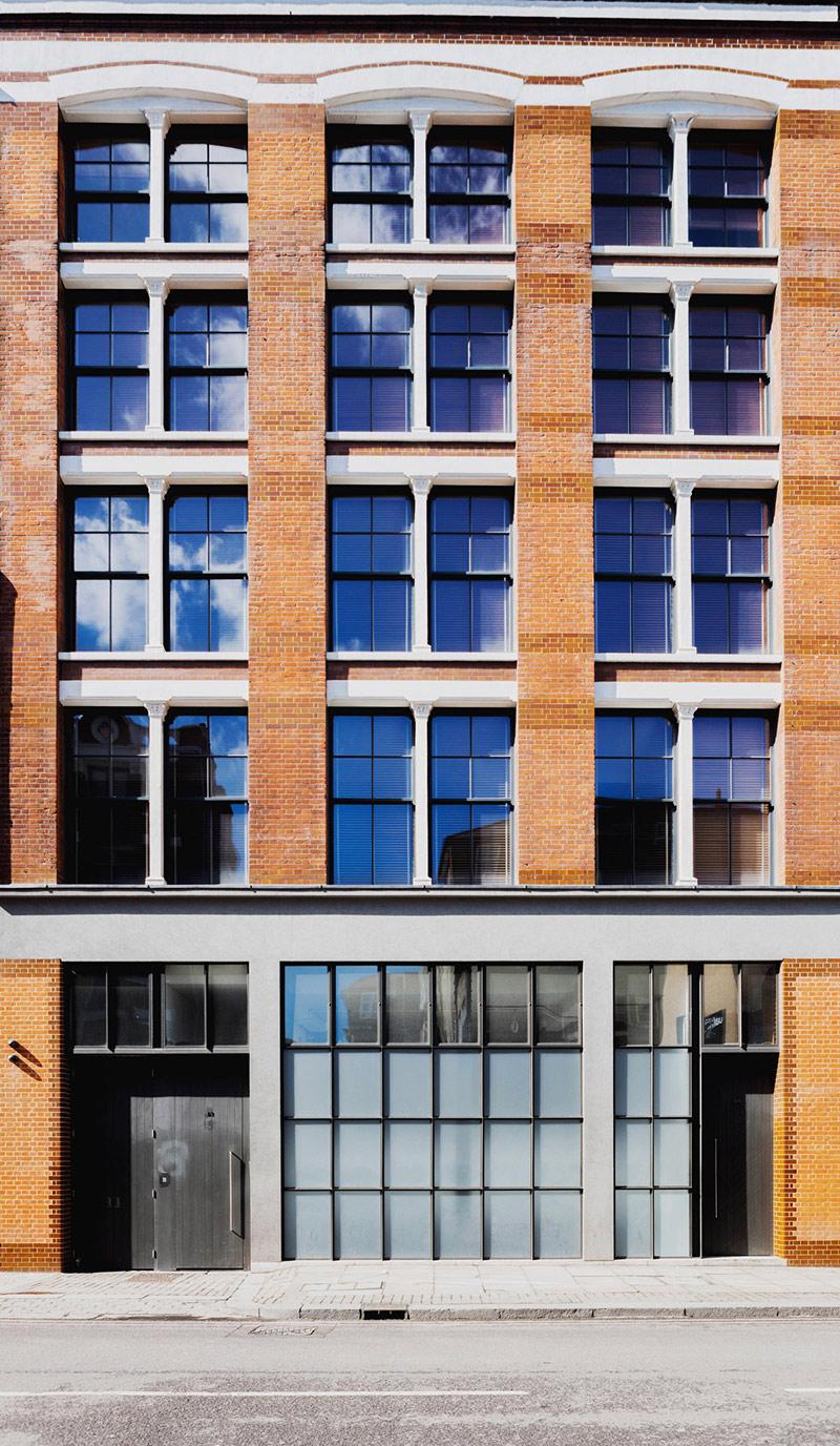 Projet Charlotte Road - Rénovation d'anciens entrepôts victoriens à Londres