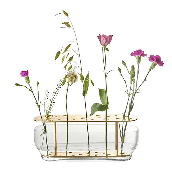 Vase en laiton et verre, Ikebana, design Jaime Hayón pour Fritz Hansen - 187,20 €
