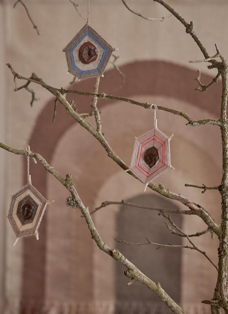 Ambiance vintage slow pour le catalogue OYOY AW2020 // Idée de DIY avec des ornements en fil