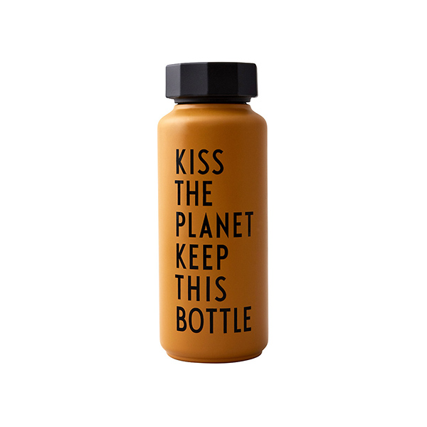 Bouteille thermos, Kiss the planet - Designer Letters - 33 €