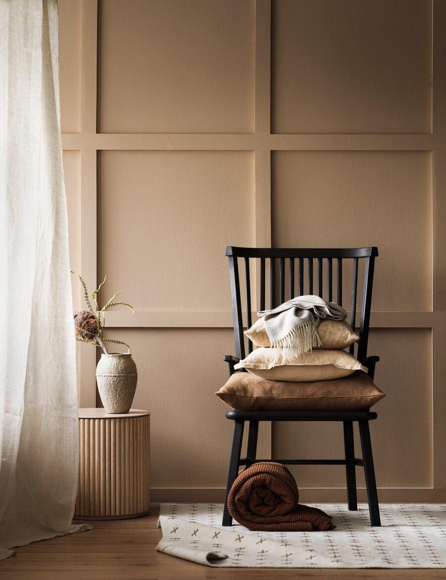Palette de couleurs terracotta, rose, beige et brun // Gamme de beige tirant vers l'orangé