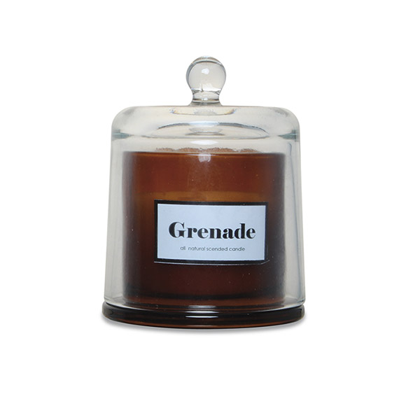 Bougie Grenade, sous cloche - Smallable Home - 25 €