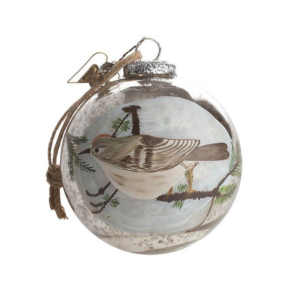 Boule de Noël Oiseau - Walther & Co