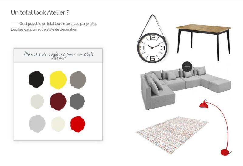 """Planche de style """"Total look atelier"""" à retrouver sur bobochicparis.com"""