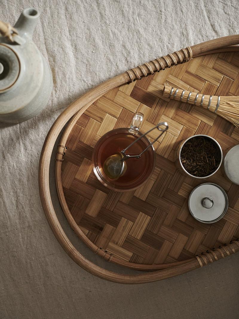 [ Nouveautés IKEA printemps 2021 ] Plateau en bambou, VÅRFINT