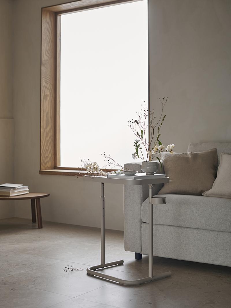 [ Nouveautés IKEA printemps 2021 ] Tablette pour ordinateur / table d'appoint BJÖRKÅSEN