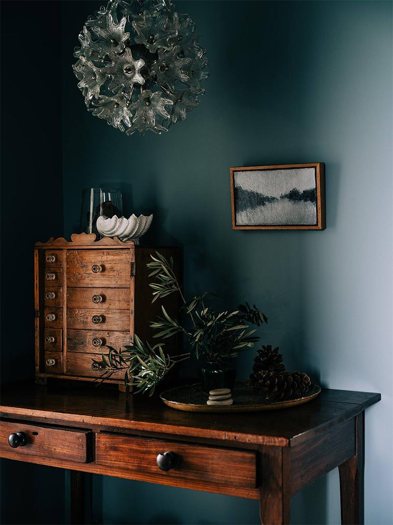 The Burrows, une chambre d'hôtes en Tasmanie // Meuble ancien et antiquité