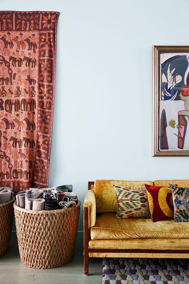5 conseils pour mélanger couleurs et motifs en déco // L'intérieur de Malene Barnett