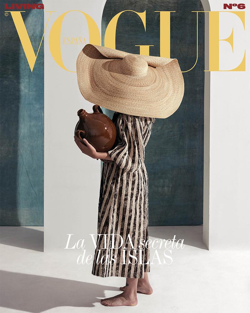 Couverture Vogue Espagne - Photo : Nacho Allegre - Studio Cobalto