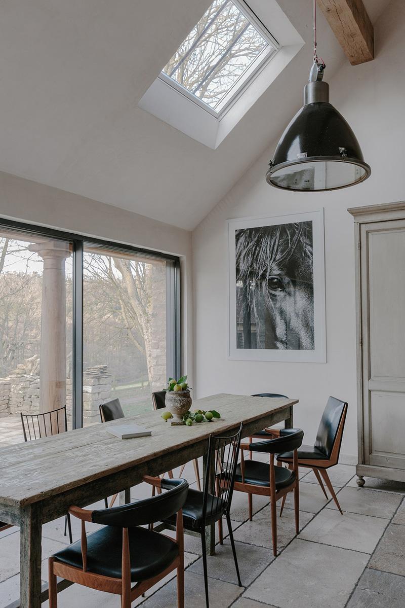 Cotswold Farm Hideaway, un cottage anglais moderne rustique à louer sur Airbnb