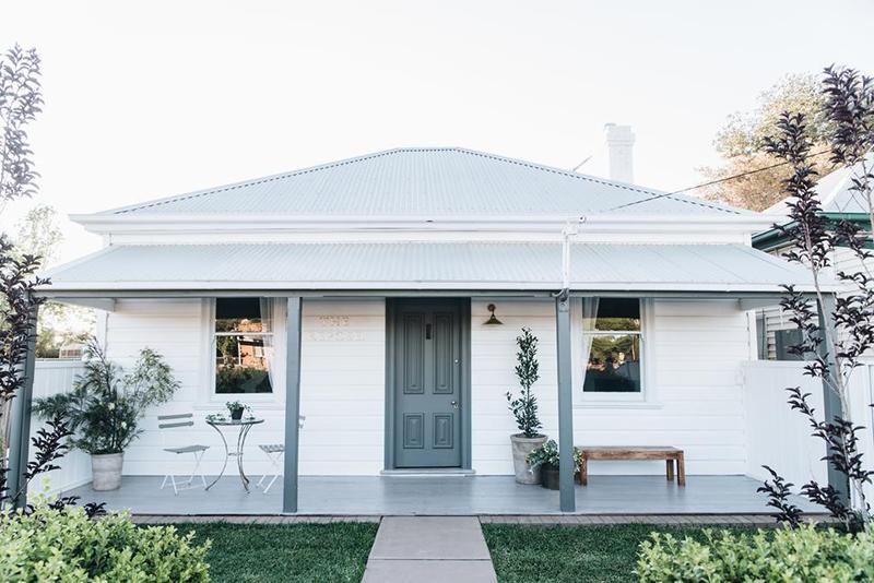 The Repose, ancienne maison de mineur rénovée en Australie