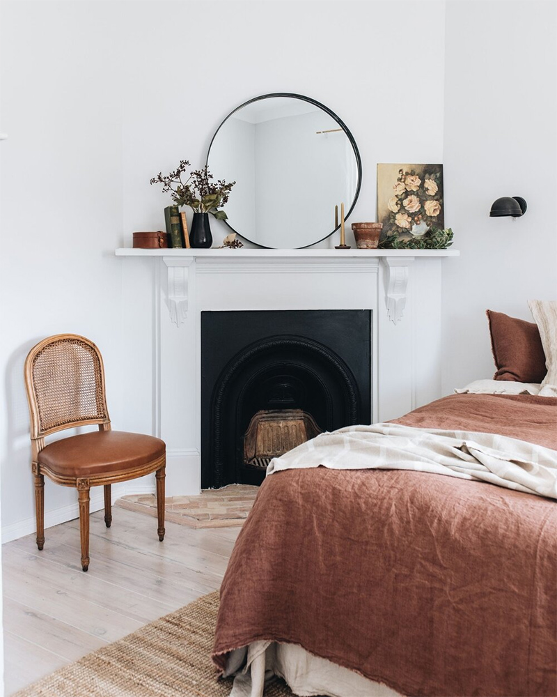 The Repose, chambre d'hôtes Dubbo, Australie // Chambre dans un style campagne