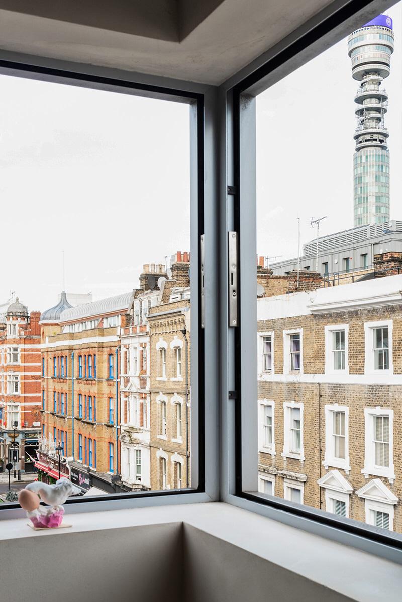 L'aménagement d'un appartement tout en longueur // Fenêtre d'angle