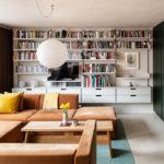 L'aménagement d'un appartement tout en longueur