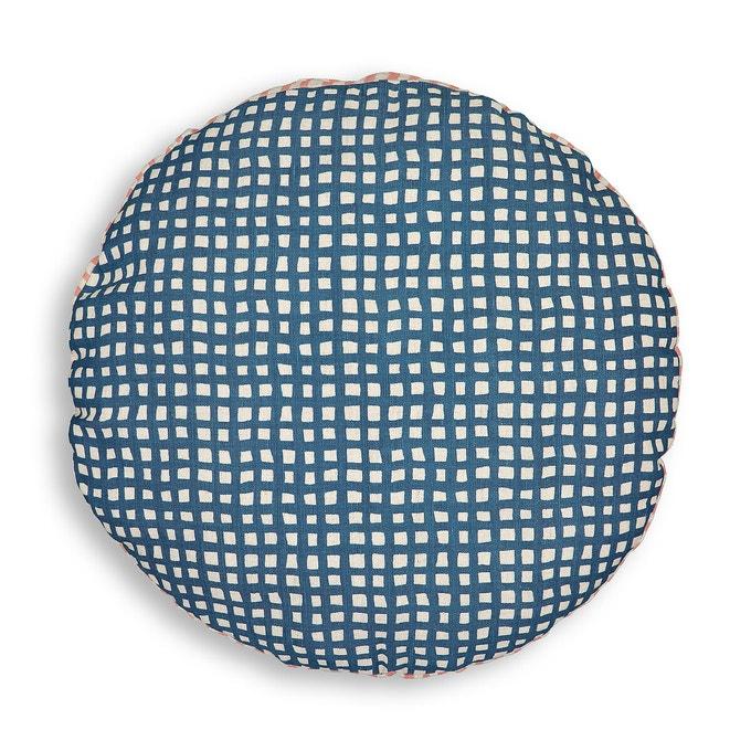 Coussin rond en coton et lin, Lalo sur La Redoute Intérieurs