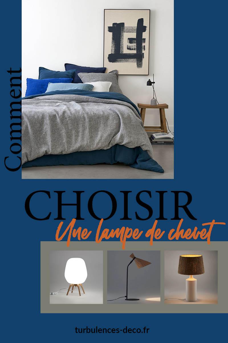Comment choisir une lampe de chevet ? Je décortique la problématique choix, style, type, sur Turbulences Déco