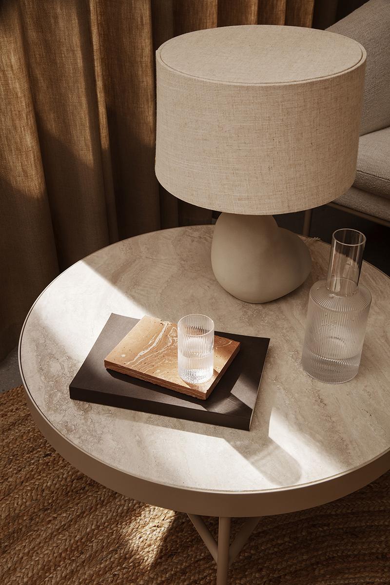 Catalogue Ferm Living SS2021 // Table en travertin