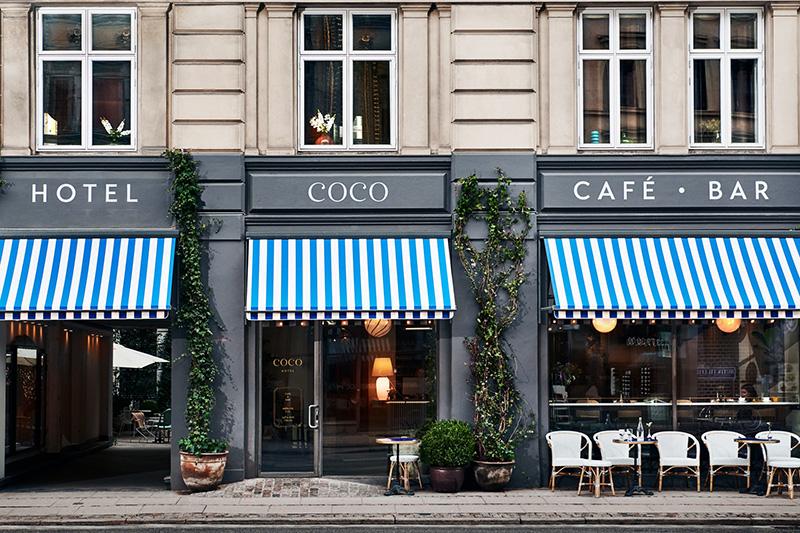 Décorez comme le Coco hotel Copenhague ! // Une façade au décor très parisien