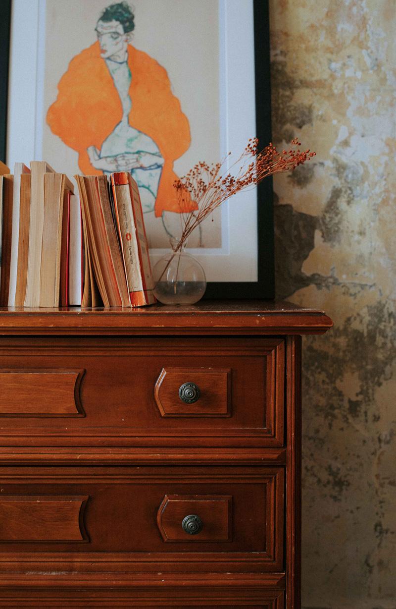 Se meubler avec du mobilier ancien, pour une ambiance old new