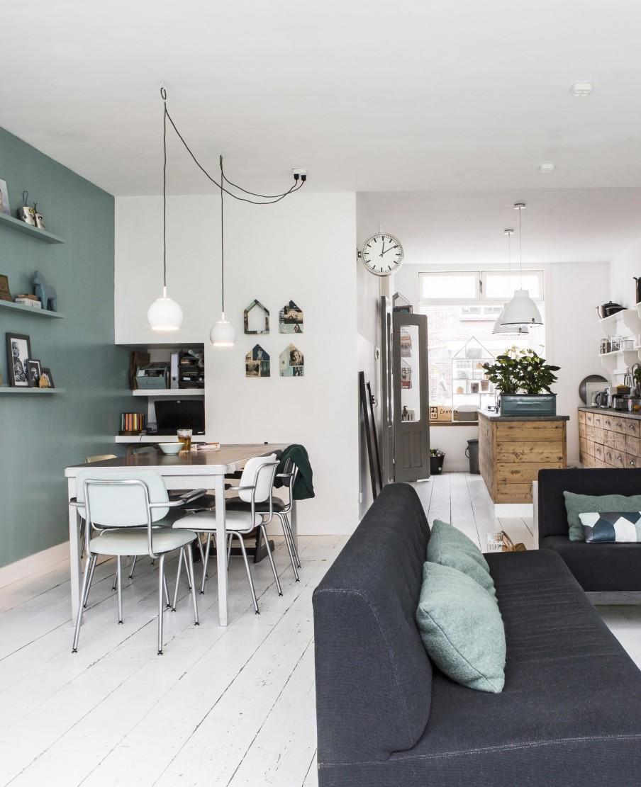 Une intérieur néerlandais twisté par du mobilier vintage