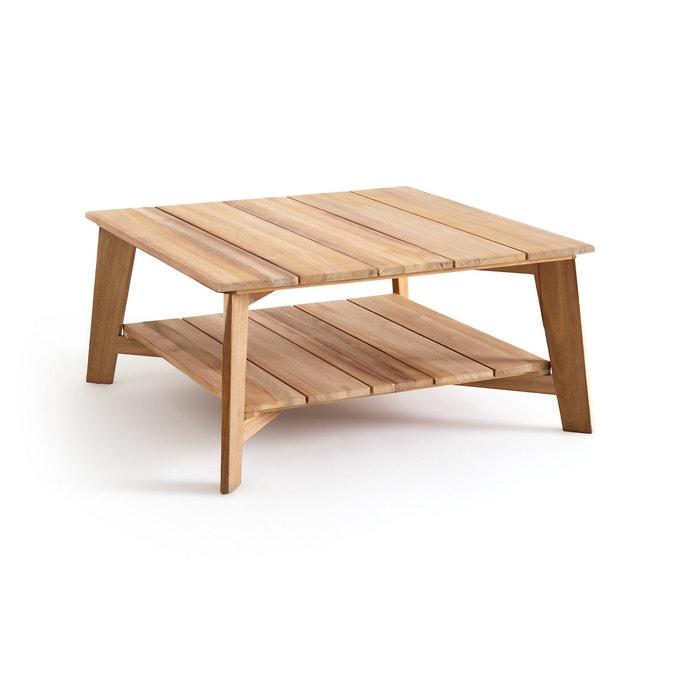 Catalogue Ampm été 2021, collection jardin - Table basse de jardin en acacia, Réphir