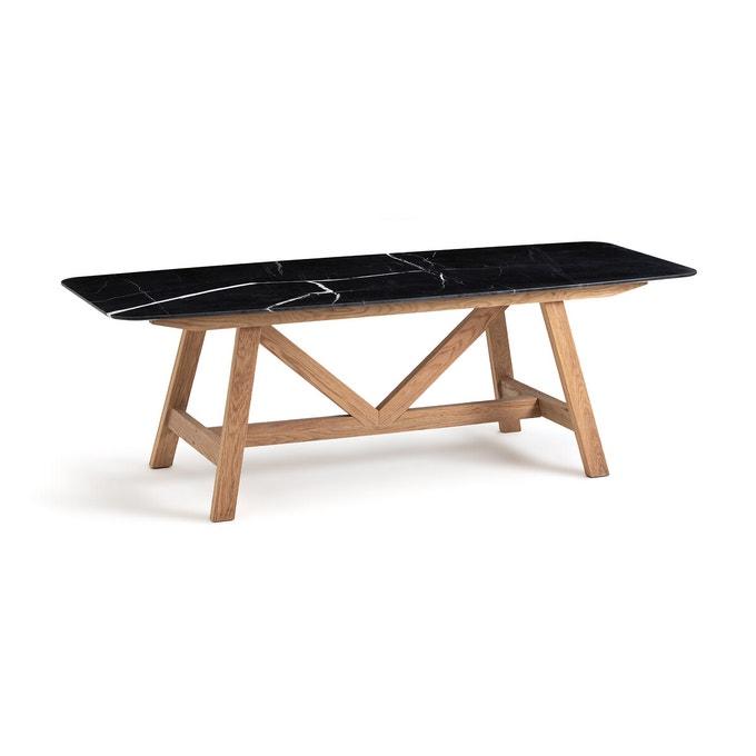 Catalogue Ampm été 2021 - Table en marbre noir, Buondi, design : E. Gallina