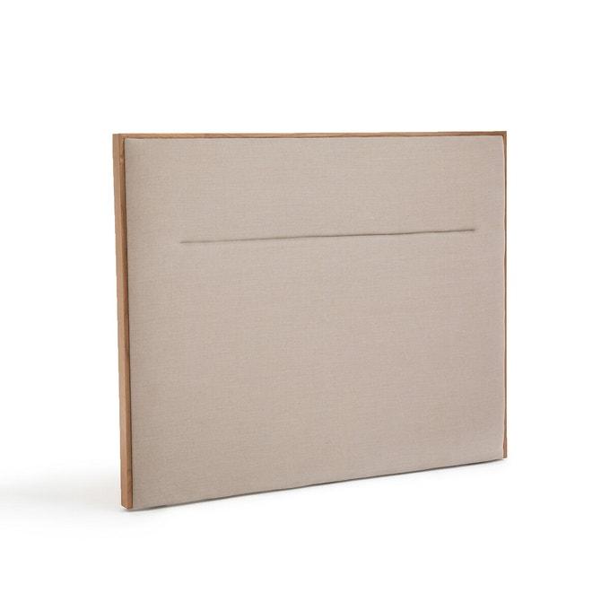 Catalogue Ampm été 2021 - Tête de lit en pur lin, Sorada