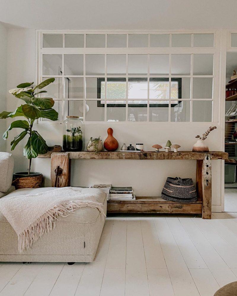 Pour un intérieur stylé, adoptez une belle plante verte // @juliana.degiacom