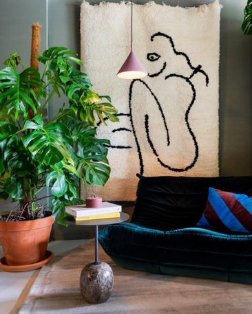 Pour un intérieur stylé, adoptez une belle plante verte // @theobert_pot